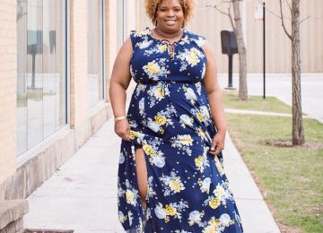 torrid blue floral dress plus size