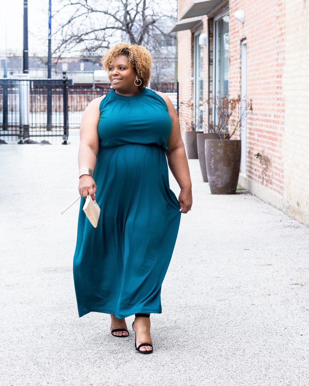 special occasion green maxie dress plus size