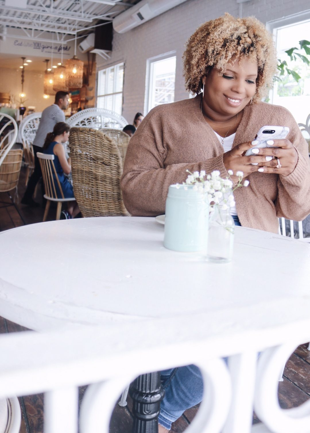 jeans with cardigan sweater plus size