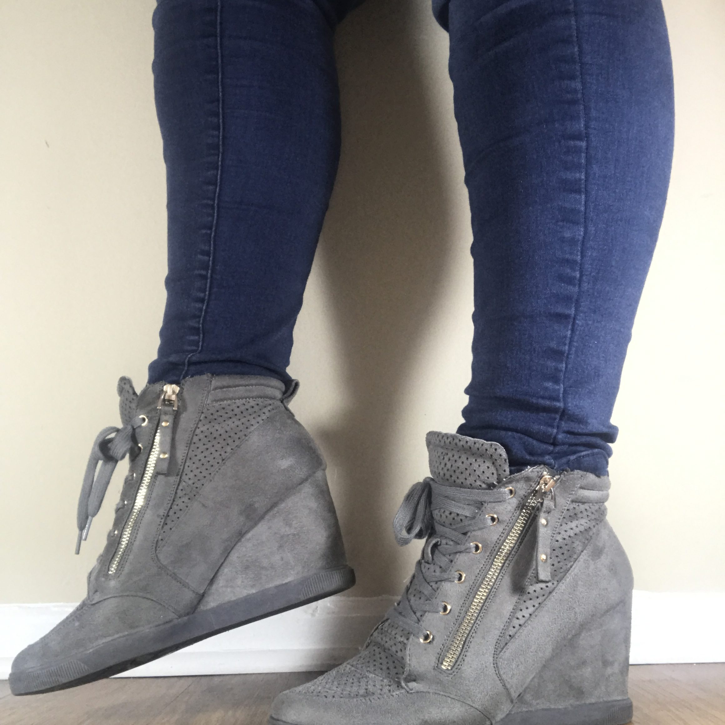 Wedge Sneakers- Say Hello to the New